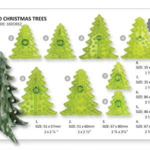Jem 3D Christmas Tree Se