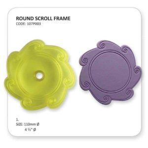 Jem Round Scroll Frame
