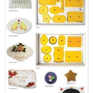 Jem 4 Small Plaques Set