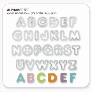 Jem Alphabet Cutter Set