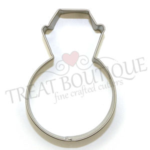TB Diamond Ring 8x6cm