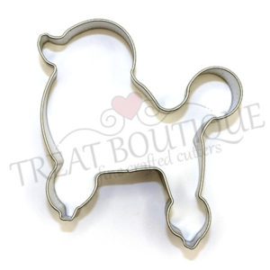 TB French Poodle 9x8cm