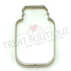 TB Glass Jar 9x6cm