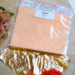 Rose Gold Leaf 3 Sheets