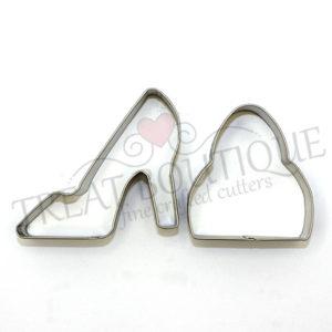TB High Heel Shoe And Ha