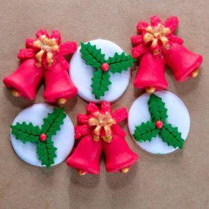 Edible Decor Holly Gift