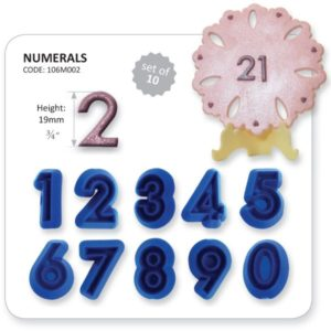 Jem Numeral (Set of 10)