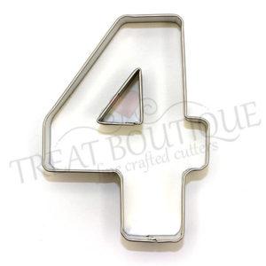 TB Number Four 10x7cm