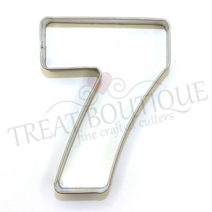TB Number Seven 10x7cm
