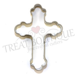 TB Ornate Cross 10x7cm