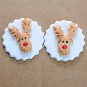 Edible Decor Disc Reinde