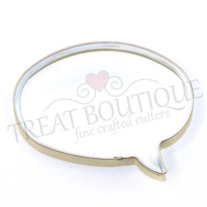 TB Speech Bubble Oval 7x