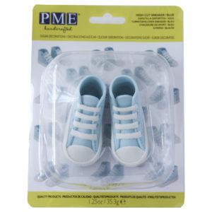 High Cut Sneaker Blue