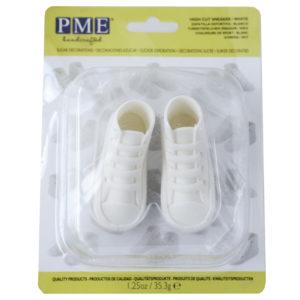 High Cut Sneaker White