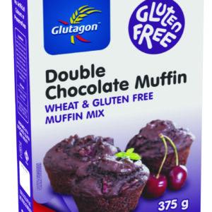 Dbl Choc Muffin Mix 375g