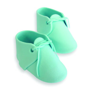 Baby Bootee Iced Blue