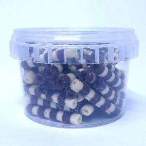 Zebra Scroll Tub